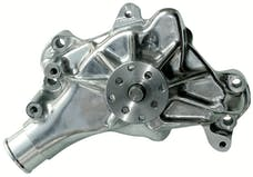 Proform 67264 Engine Water Pump; Mechanical Long Style; High Flow Model; Polished; SB Chevy