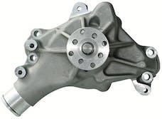 Proform 67265 Engine Water Pump; Mechanical Long Style; High Flow Model; Satin; SB Chevy