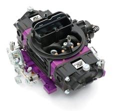 Proform 67313 Black Street Series Carburetor; 750 CFM, Mechanical Secondary, Black & Purple