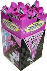 Proform 68073 No-Mess' Funnel In-Store Merchandiser; 15 X 15 X 36 Graphics Box w/60 Funnels