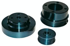 PROFORM 68090C Underdrive Pulley Kit; Uses Stock Serpentine Belt; Fits 5.0 Mustang 1987-1993
