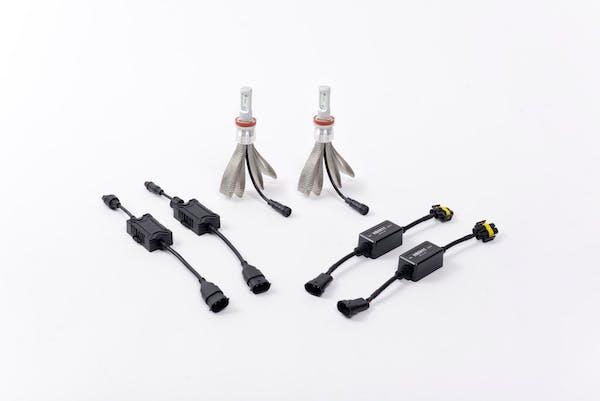 Putco 280011 Silver-Lux LED Kit -  H8 / H9 /  H11 / H16 Type 2  - Pair