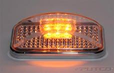 Putco 900003 UNIVERSAL SIDE MARKER-AMBER LED W/CLEAR LENS