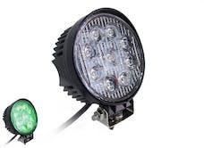 "Race Sport Lighting RS-27W-RXH GREEN x-Hunter Series LED 4"" Round Hi-Power27W  (Each)"