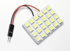 Race Sport Lighting RS-5050-24DOME-A 24 Chip LED Dome Panel (Amber)