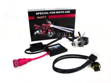 Race Sport Lighting RS-H4-5K-DB-MOTO H7 5K Hi/Lo Bi-Xenon Moto/ATV Kit