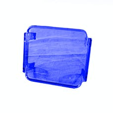 Race Sport Lighting RS-3X3C-B Protective Colored 3X3 Spotlight Cover (Blue)