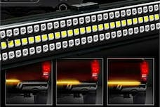 Race Sport Lighting RS120048 48in Triple Row LED Premium Tailgate Bar, 5 Function