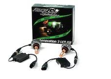 Race Sport Lighting H9-LED-G3-KIT GEN3 H9 2,700 LUX LED Headlight Kit