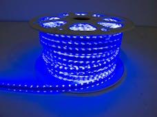 "Race Sport Lighting RS-3528-164FT-B 110V ""Atmosphere"" Waterproof LED Strip Lighting Blue"