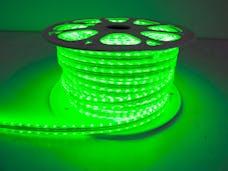 """Race Sport Lighting RS-3528-164FT-G 110V """"Atmosphere"""" Waterproof LED Strip Lighting Green"""