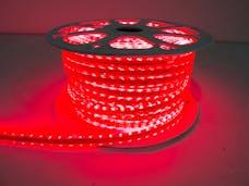 "Race Sport Lighting RS-3528-164FT-R 110V ""Atmosphere"" Waterproof LED Strip Lighting Red"