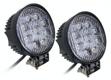 "Race Sport Lighting RS-27W-R-2 4"" Round Hi Power Led"