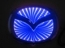 Race Sport Lighting RS-3DLED-MAZ-B 3D LED Logo Badge (Mazda-Blue)