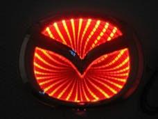 Race Sport Lighting RS-3DLED-MAZ-R 3D LED Logo Badge (Mazda-Red)