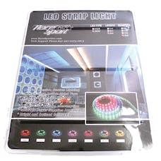 Race Sport Lighting RS-5M-3528-RGB-110V 16ft (5M) 110V 20-Color RGB 3528 LED Strip w/ Remote