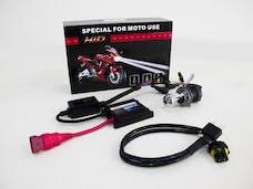 Race Sport Lighting RS-H4-8K-DB-MOTO H4 8K Hi/Lo Bi-Xenon Moto/ATV Kit