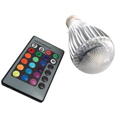 Race Sport Lighting RS-RGB-110V-E27(9W) Multi Purpose Light Bulb