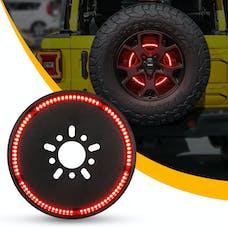 Race Sport Lighting RS365JL Jeep JL 3rd Brake Light LED 5th Wheel Mount