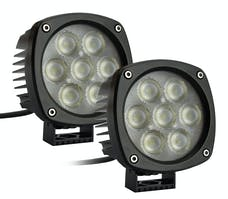 "Race Sport Lighting RS-4CREE-35W-2 4.3"" Round Cree Spot Light (Pair)"