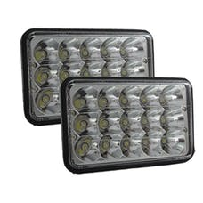"Race Sport Lighting RS-4X6-LEDC-PR 4x6"" LED Conversion Lens (Pair)"