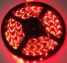 Race Sport Lighting RS-3528-1MR 3ft (1M) LED Strip (Red)