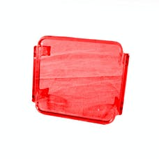 Race Sport Lighting RS-3X3C-R Protective Colored 3X3 Spotlight Cover (Red)