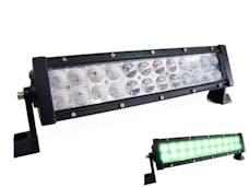"Race Sport Lighting RSLED14-XH GREEN x-Hunter Series Light Bars 14"" CREE LED Light Bar 72 Watt"