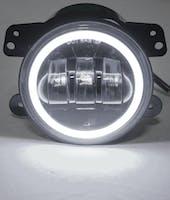 Race Sport Lighting RS-4FHALOW Jeep Wrangler JK 4