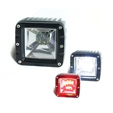 Race Sport Lighting RS12KR 2-Function LED Cube style Back light