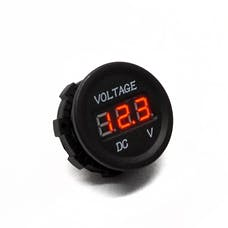 Race Sport Lighting RS50786 DC SOCKET DC5-30V  Voltmeter Socket