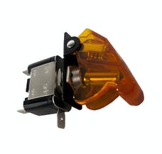 Race Sport Lighting RS-12V-YELLOW 12V LED Toggle Switch (Yellow)