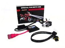 Race Sport Lighting RS-H4-6K-DB-MOTO H4 6K Hi/Lo Bi-Xenon Moto/ATV Kit