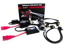 Race Sport Lighting RS-H4-5K-DB-2MOTO H4 5K Dual Bulb Hi/Lo Bi-Xenon Moto/ATV Kit