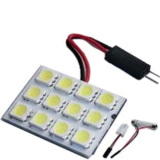 Race Sport Lighting RS-5050-12DOME-R 12 Chip LED Dome Panel (Red)