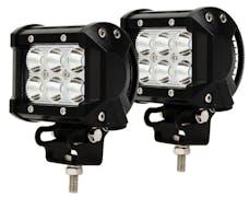 Race Sport Lighting RS6L18WPR Street Series 6 LED Bottom Mount LED Spot Lights - Pair