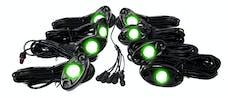Race Sport Lighting RSLD8KITG 8 LED Glow Pod Kit with Brain Box IP68 12V with All Hardware
