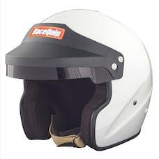 Racequip 253116 OF15 Open Face Snell Race Helmet (Gloss White, X-Large)