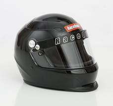 Racequip 273006 Pro15 Full Face Snell Race Helmet (Gloss Black, X-Large)