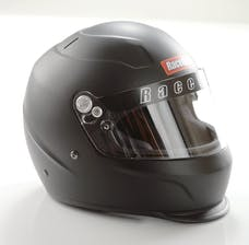 Racequip 273993 Pro15 Full Face Snell Race Helmet (Flat Black, Medium)