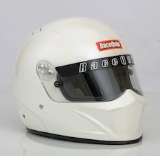 Racequip 283116 Vesta15 Full Face Snell Race Helmet (Gloss White, X-Large)