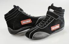 Racequip 30500085 Euro Carbon-L Series SFI Racing Shoes (Black, Size 8.5)