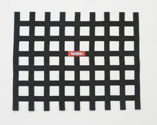 "Racequip 721005 Non-SFI Ribbon-Style Race Car Window Net (Black, 18""x24"")"