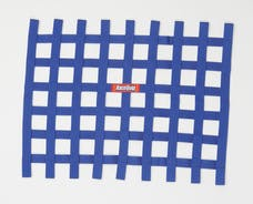 "Racequip 721025 Non-SFI Ribbon-Style Race Car Window Net (Blue, 18""x24"")"