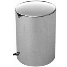 RPC (Racing Power Company) R1067 Chrome steel oil filter cover (ea)