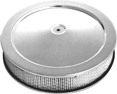 """RPC (Racing Power Company) R2195 Chrome """"Muscle Car"""" Style Air Cleaner Set"""