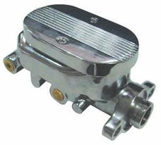 """RPC (Racing Power Company) R3509 Chr alum master cylinder 1 1/8"""" bore 4 ports"""