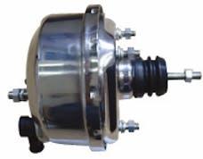 "RPC (Racing Power Company) R3700 7"" SINGLE BRAKE BOOSTER CHROME"