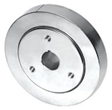"""RPC (Racing Power Company) R3860 6.75"""" POLISHED STAINLESS STEEL DAMPER"""