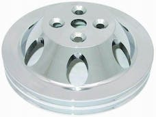 RPC (Racing Power Company) R8842C Chrm alum bb dbl up pulley-swp ea